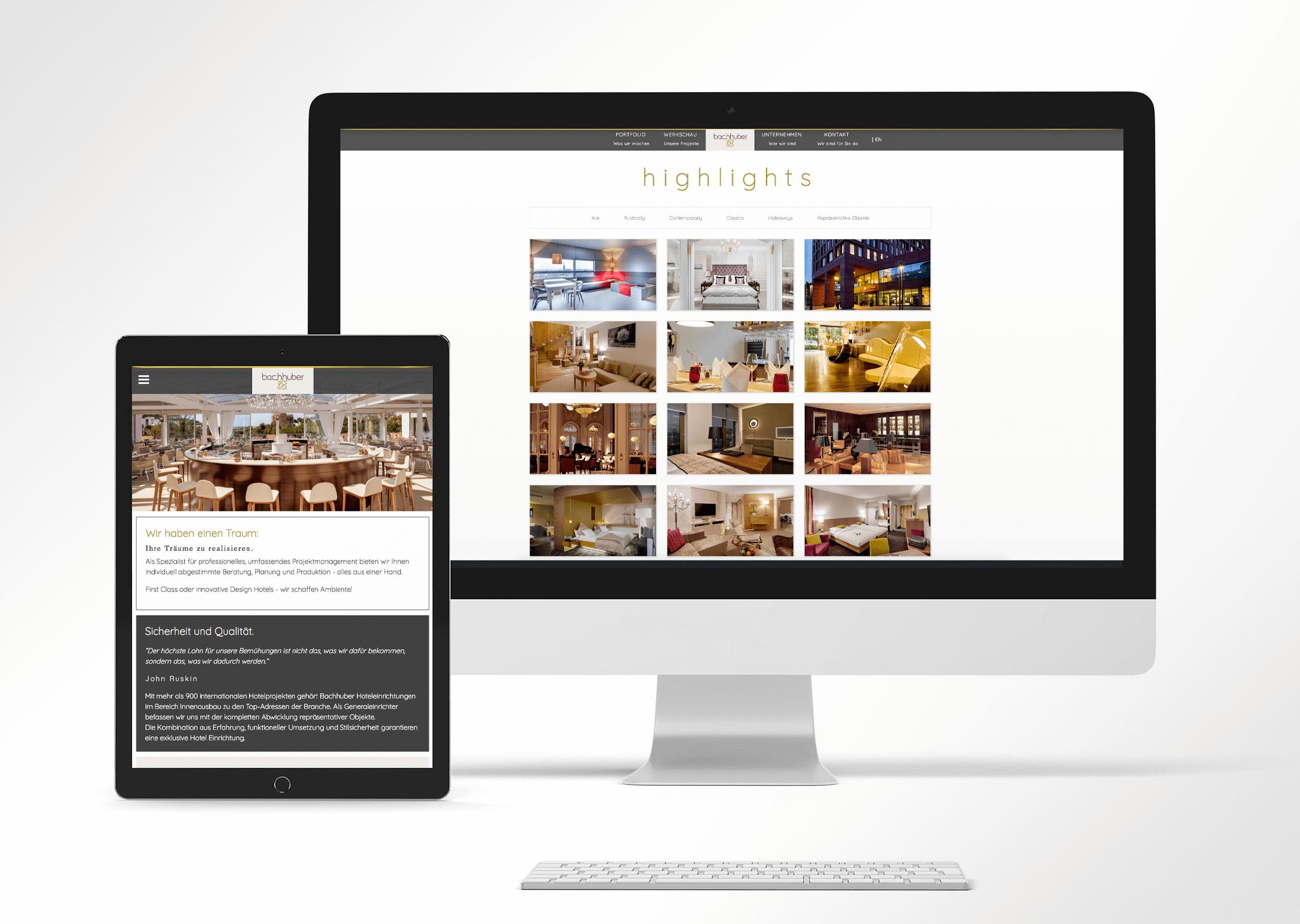 Webdesign Eggenfelden - Haberland - Portfolio Bachhuber
